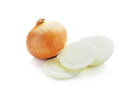 Onion isolated on white background, Onion isolated