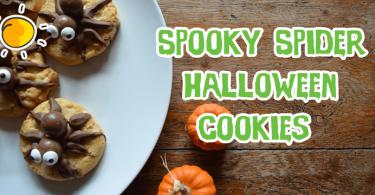Spooky Spider Halloween Cookies