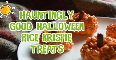 Hauntingly Good Halloween Rice Krispie Treats Header