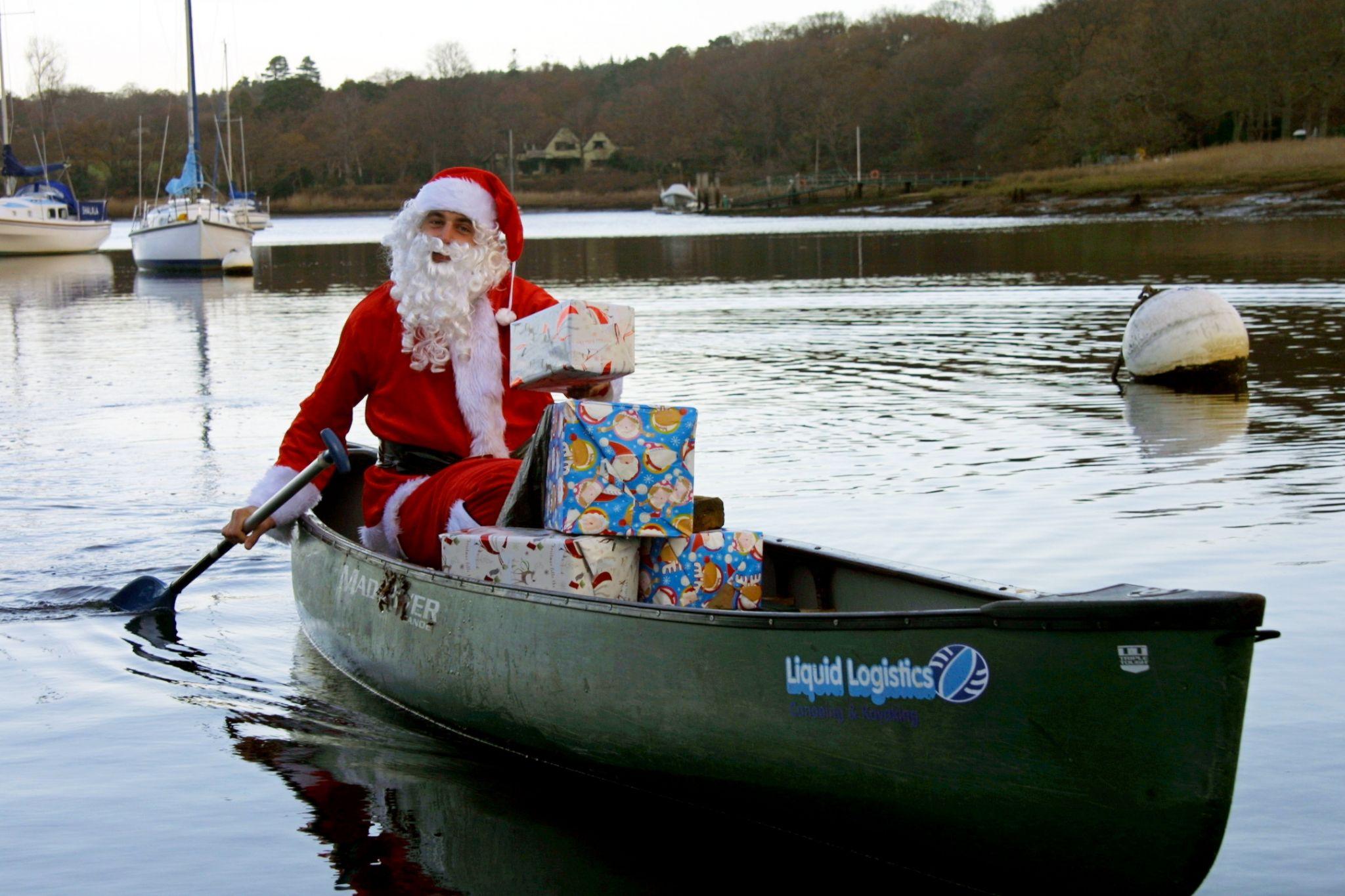 christmas-paddle