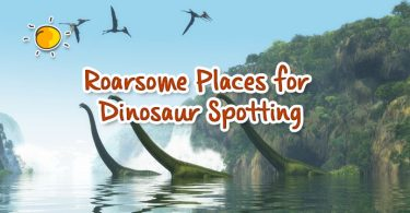 header - roarsome places for dinosaur spotting new