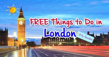 Free things to do in London -tag