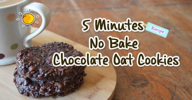 blogheader-no bake chocolate oat cookies