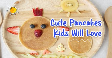 cute pancakes kids will love