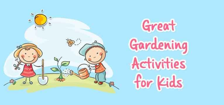 Great Gardening Activities for Kids-header