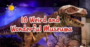 header- 10 weird and wonderful museums
