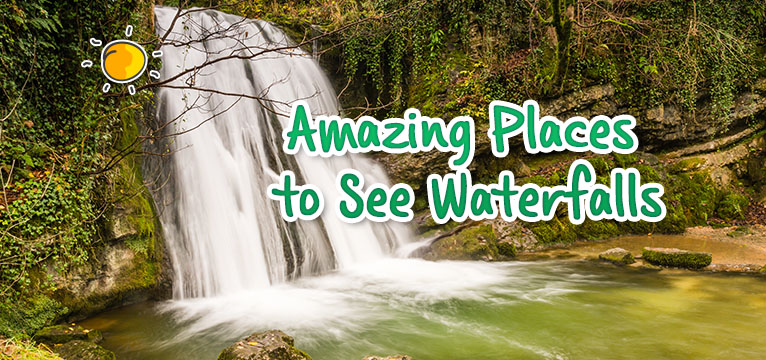 header - amazing places to see waterfalls