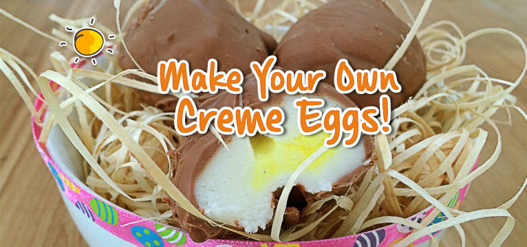 Make Your Own Creme Eggs