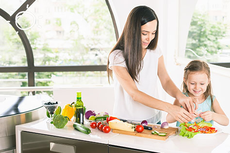cook healthy with kids