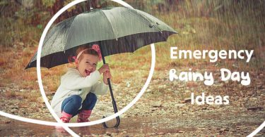 emergency rainy days idea
