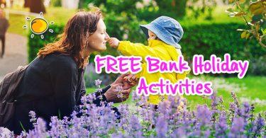 free bank holiday activities