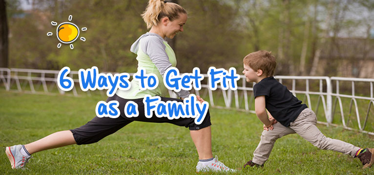 header - 6 ways to get fit as a family