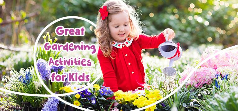 Great Gardening Activities for Kids