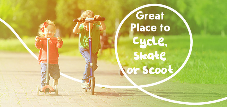 Great Place to Cycle Skate or Scoot