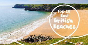 top 10 british beaches