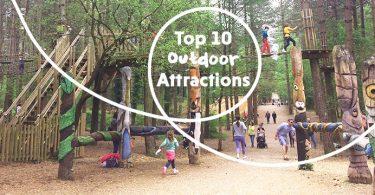 top 10 outdoor attractions