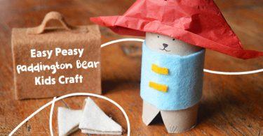 Paddington Bear Kids Craft