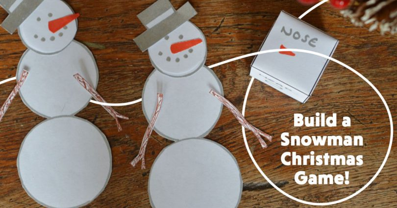 Build a Snowman Christmas Game!