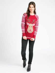 Maternity Christmas Jumper