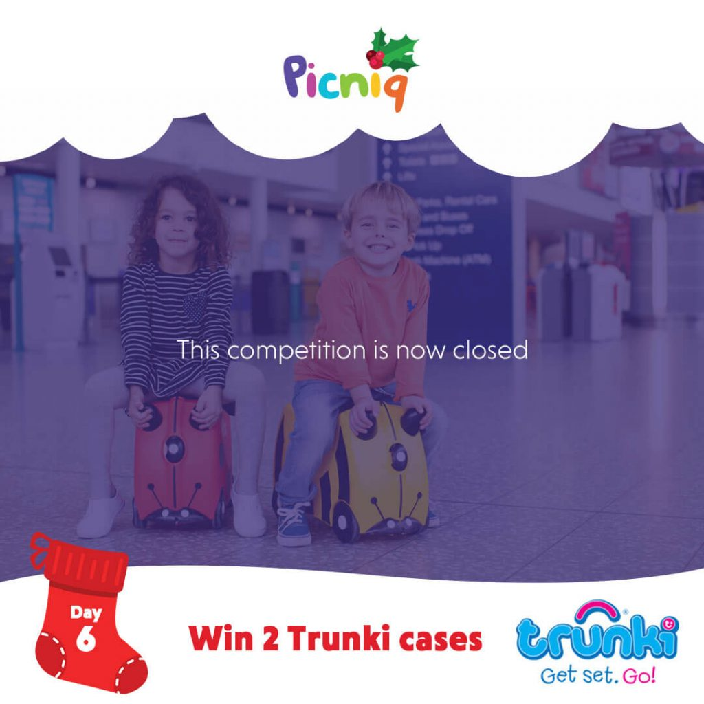 Christmas Giveaway Day 6 Closed - Trunki