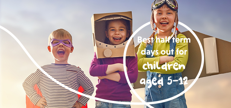 Best Half Term Days Out For Children aged 5 - 12