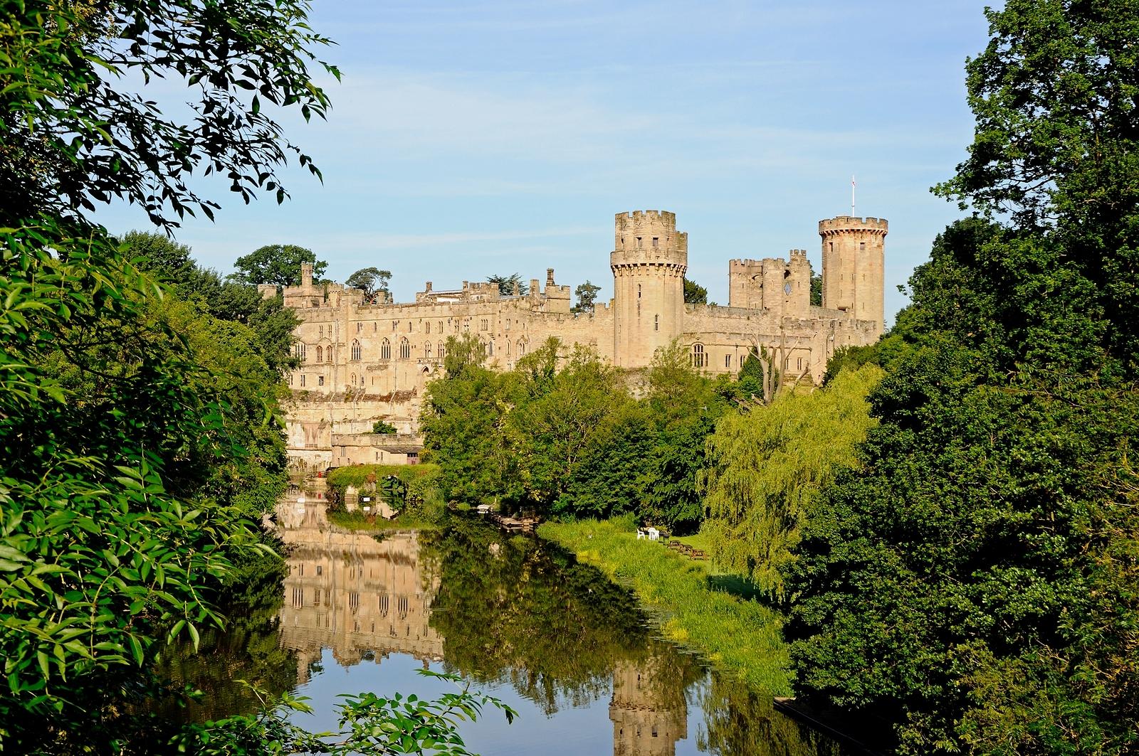 Warwick Castle and River Avon.