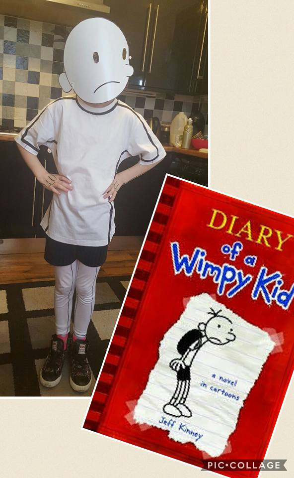b54df0b3c We love this super simple but effective costume of Diary of a Wimpy kid's  Greg made by Jennifer Kenny!