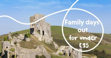 Family Days Out For Under £25