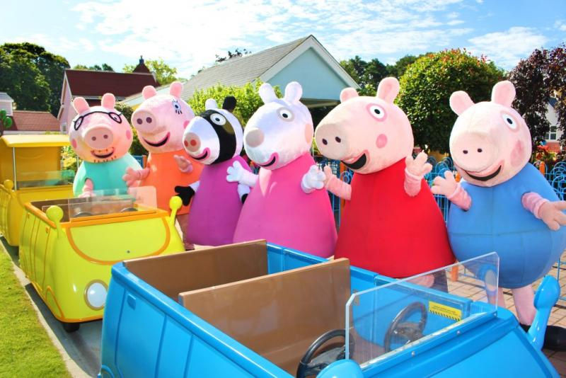 Paultons Park- Home of Peppa Pig World! | Easter Days out for Under 5's